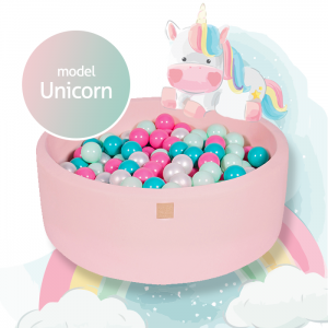 MeowBaby® Unicorn Model - ensemble complet avec 250 balles!