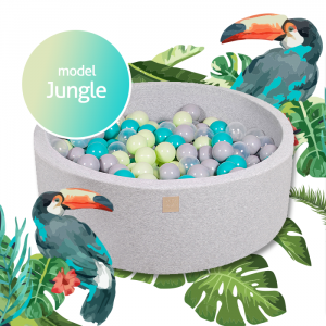 MeowBaby® Jungle Model - ensemble complet avec 250 balles!